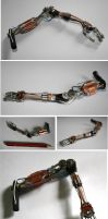 Steampunk Arm by heineche