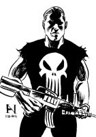 The Punisher by IanJMiller
