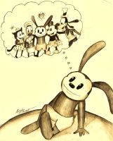 Oswald's Dream by Checker-Bee