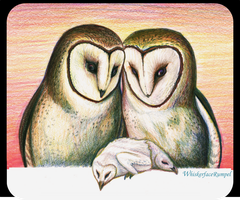 Owl Love by WhiskerfaceRumpel