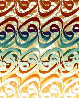 Arabic Letters 28 by calligrafer