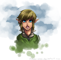 There's a 100% chance Link looks too young here by Pharos-Chan