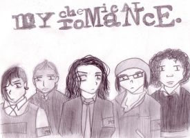 My Chemical Romance by anonymousXidentity