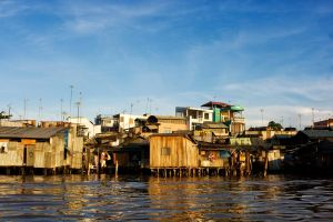 Mekong River Homes by cjmchch