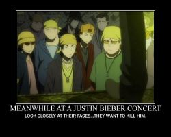 Meanwhile, at a Justin Bieber concert... by EverythingDuRaRaRa