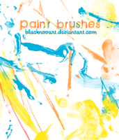 Paint brushes by blacknovART