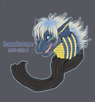 [gift] devilishly handsome  [w] by Bluehasia