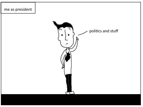 Me As President by webcomicsarerelivent
