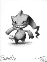 Banette by johnrenelle