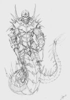Forged to War Naga version by Endyamar