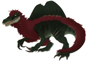 Elliot Spinosaurus by MintyMaguire