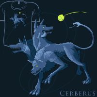 Woot Shirt - Cerberus by fablefire