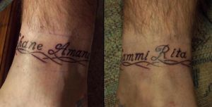 Daves ankle band tattoo 1 by ashes48