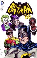 Batman '66 sketchcover by hdub7