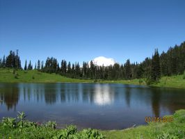 Tipsoo Lake by RavenWing1012