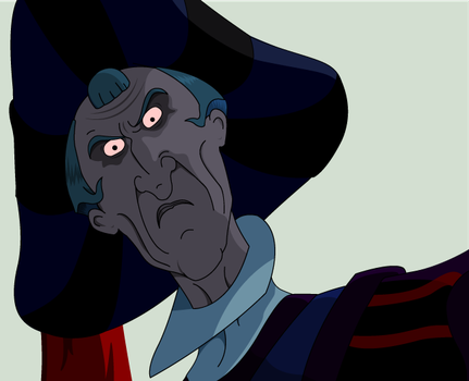 Judge claude Frollo 2 by Wopter