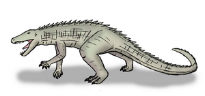 Ornithosuchus by OperaGhost21