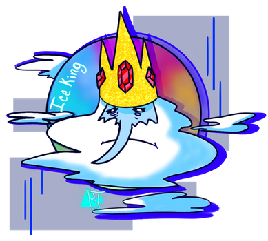 ice king fanart Friday by Bubblegumteal