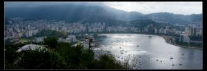 Postcard from Rio I by Wyco