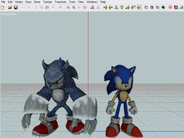 sonic unleashed models by bladehandlerx