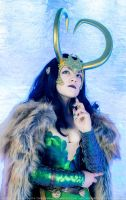 Lady Loki by ZoeVolf