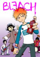 Bleach Gorillaz by Aile-M
