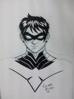 NYCC Commissions - Nightwing by LucianoVecchio