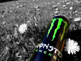 Monster energy wallpaper by Bouwland