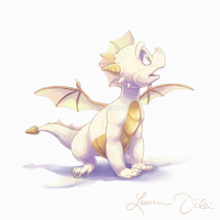 White Hatchling by DaffoDille