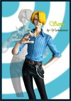 Sanji One Piece - Model Kit by yashakawaii