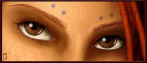 Madee Eyes Close-Up by Siobhan68