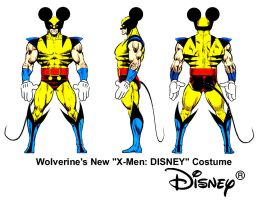 Wolverine Marvel Disney by Giosuke