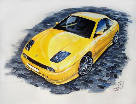 Fiat Coupe by tubyx