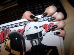 Nail Art: RAM Thomas Themed Nails by GingaAkam