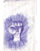 fist!!! by nickoswar