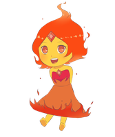 Flame Princess by natto-ngooyen