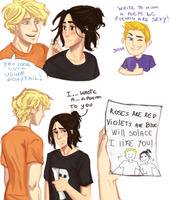 Solangelo by whenpopsucks