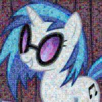 DJ-Pon3 monaic by Lacon-te