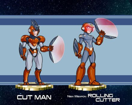 MMRedesign: DLN-003-Cut-Man by AdamWithers