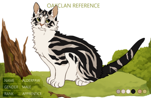 [INACTIVE] OakClan: Alderpaw by nargled