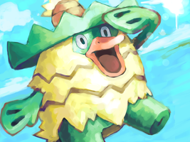 ludicolo by SailorClef