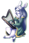 .:Commission:. Peaceful Melodies by SugahFox