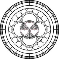 Stained Glass Template 6 by Maleficent84