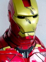 bust iron-man by Eddie2B