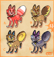 Flufffoxes  Sold by griffsnuff