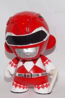 Mighty Morphin Red Ranger Munny by skylineBARR