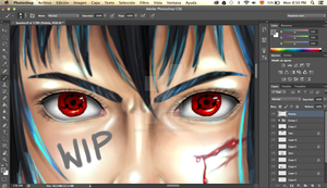 WIP-Sasuke by red-lawliet95