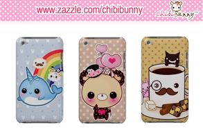 Kawaai Ipod Touch Cases by tho-be
