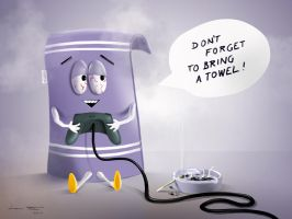 Towelie by microbot23