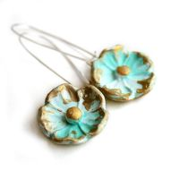 vintage style earrings 2 by catshome